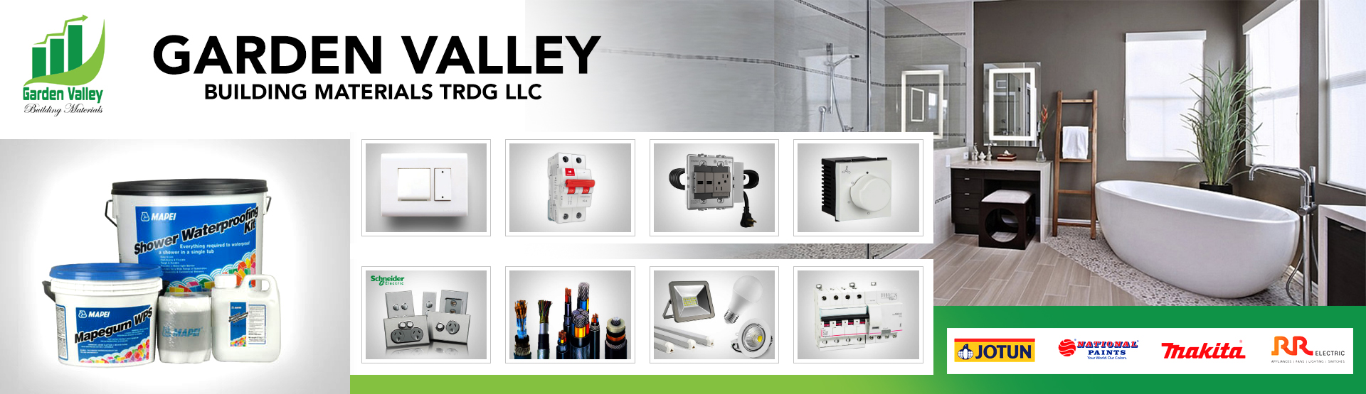 GARDEN VALLEY BUILDING MATERIALS TRDG LLC