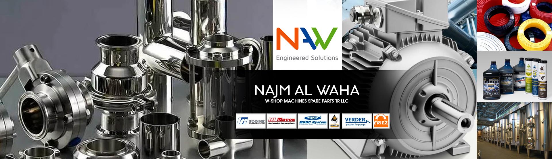 NAJM AL WAHA W-SHOP MACHINES SPARE PARTS TR LLC