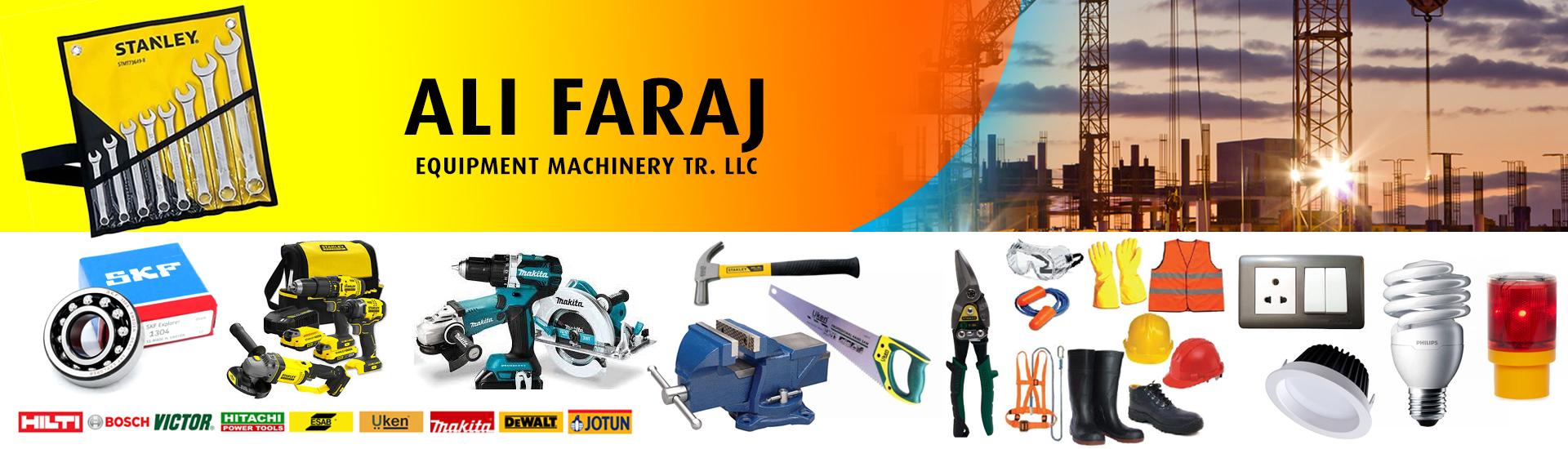 ALI FARAJ EQUIPMENT MACHINERY Tr. LLC